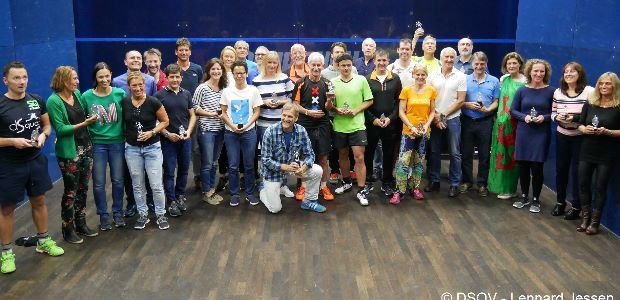 First Super Series Tournament on the ESF Masters Circuit