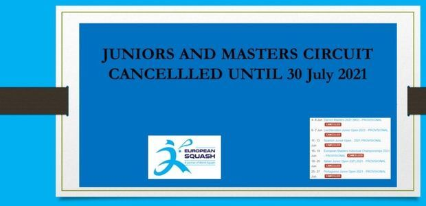 Masters and Junior circuit January update